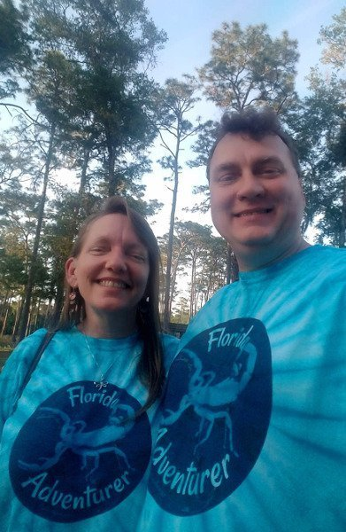 Travis and Emily Birt, Florida Adventurers